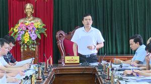 Hội nghị Ban Thường vụ Huyện ủy thường kỳ tháng 6 năm 2021
