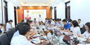 Thanh Thủy tổ chức hội nghị giao ban trực tuyến tháng 9 năm 2020
