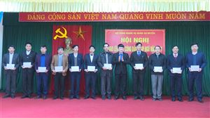 Hội đồng NVQS huyện Thanh Thủy giao lệnh gọi công dân nhập ngũ năm 2021