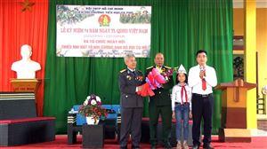 Trường Tiểu học La Phù kỷ niệm 74 năm ngày thành lập QĐND Việt Nam