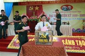Đại hội Đảng bộ Quân sự huyện Thanh Thủy nhiệm kỳ 2020-2025