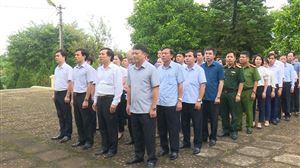 Thanh Thuỷ dâng hương tưởng niệm Ngày mất Chủ tịch Hồ Chí Minh