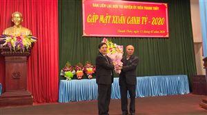 Ban Liên lạc hưu trí Huyện ủy viên Thanh Thủy gặp mặt đầu xuân Canh Tý 2020