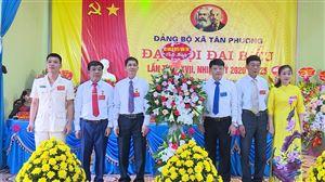 Đại hội Đại biểu Đảng bộ xã Tân Phương lần thứ XXVII, nhiệm kỳ 2020 - 2025