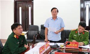 Kiểm tra công tác Giáo dục Quốc phòng – An ninh tại huyện Thanh Thủy
