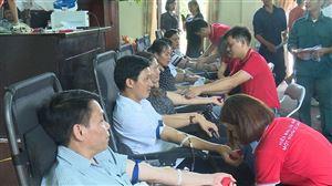 Thanh Thủy tổ chức hiến máu tình nguyện năm 2019