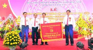 Xã Đào Xá kỷ niệm 70 năm Ngày thành lập Đảng bộ và đón nhận danh hiệu xã đạt chuẩn nông thôn mới