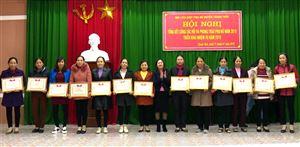Hội LHPN huyện Thanh Thủy tổng kết công tác năm 2018