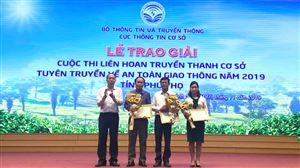 Đài Truyền thanh xã Đoan Hạ đạt giải Nhì Cuộc thi liên hoan truyền thanh cơ sở tuyên truyền về ATGT năm 2019