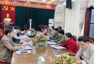Ủy ban MTTQ huyện tổ chức hội nghị hướng dẫn triển khai công tác bầu cử Quốc hội khóa XV