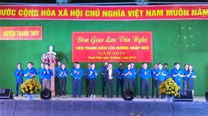 Huyện Thanh Thủy tổ chức giao lưu văn nghệ tiễn thanh niên lên đường nhập ngũ năm 2019