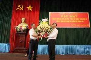 Huyện ủy Thanh Thủy tổ chức gặp mặt chia tay đồng chí Trần Kim Phúc - Phó Bí thư TT Huyện ủy - Chủ tịch HĐND huyện