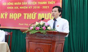 HĐND huyện Thanh Thủy khóa XIX tổ chức kỳ họp thứ 10