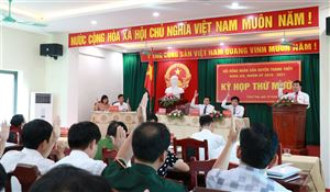 HĐND huyện Thanh Thủy tổ chức thành công kỳ họp thứ 10