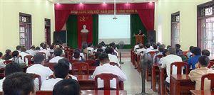 Hội Nông dân huyện tổ chức lớp bồi dưỡng nghiệp vụ công tác năm 2019