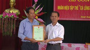 Huyện Thanh Thủy công bố nhãn hiệu Cá lồng sông Đà Thanh Thủy