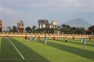 Giao lưu bóng đá giữa Công đoàn Khối Chính quyền với Doanh nghiệp TN Xuân Thiều