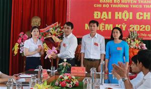 Đại hội Chi bộ Trường THCS Thanh Thủy, nhiệm kỳ 2020-2025