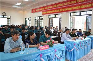 UBND xã Thạch Đồng khai mạc huấn luyện Dân quân tự vệ năm 2021