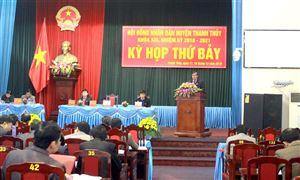 HĐND huyện Thanh Thủy bế mạc kỳ họp thứ Bảy