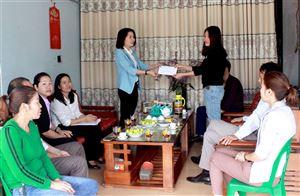 Hội Liên hiệp Phụ nữ huyện Thanh Thủy hỗ trợ phụ nữ khởi nghiệp