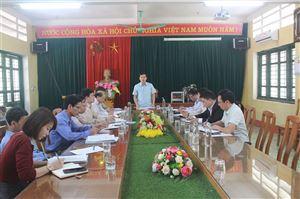 HĐND huyện giám sát chương trình giáo dục tại trường THPT và THCS Thanh Thủy