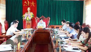 Hội nghị Ban Thường vụ Huyện uỷ thường kỳ tháng 5/2020