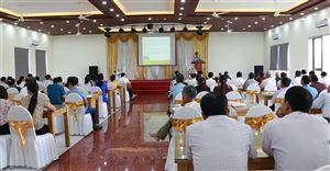 Tập huấn nâng cao nhận thức, kiến thức kỹ năng truyền thông phổ biến giáo dục pháp luật về tài nguyên và môi trường.