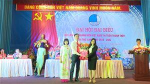 Hội Liên hiệp Thanh niên Việt Nam thị trấn Thanh Thủy tổ chức Đại hội lần thứ V, nhiệm kỳ 2019 - 2024