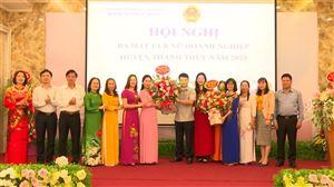 Ra mắt Câu lạc bộ nữ Doanh nghiệp huyện Thanh Thủy