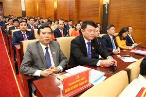 Đoàn đại biểu Đảng bộ huyện Thanh Thủy tham dự Đại hội Đảng bộ tỉnh Phú Thọ lần thứ XIX, nhiệm kỳ 2020-2025