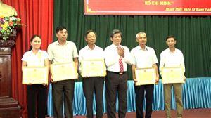 Thanh Thủy tổ chức lễ kỷ niệm 70 năm ngày Chủ tịch Hồ Chí Minh ra lời kêu gọi thi đua ái quốc