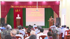 Tập huấn bồi dưỡng lý luận chính trị và nghiệp vụ công tác Hội Nông dân