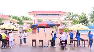 Kỳ thi tuyển sinh vào lớp 10, năm học 2021-2022 trên địa bàn huyện Thanh Thủy diễn ra an toàn