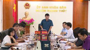 Hội đồng NVQS huyện Thanh Thủy triển khai công tác tuyển chọn, gọi công dân nhập ngũ và thực hiện nghĩa vụ tham gia CAND năm 2021