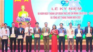 Huyện đoàn Thanh Thủy tổ chức Lễ kỷ niệm 90 năm Ngày thành lập Đoàn TNCS Hồ Chí Minh (26/3/1931 – 26/3/2021).