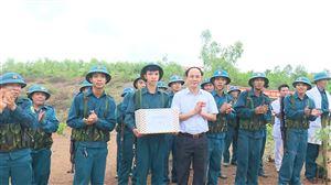 Xã Xuân Lộc tổ chức diễn tập chiến đấu phòng thủ năm 2019