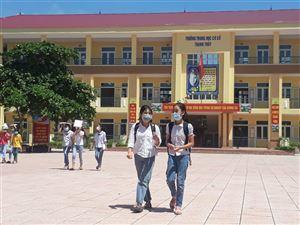 197 thí sinh tham sự kỳ thi vào lớp 6 Trường THCS Thanh Thủy