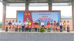 Khai mạc giải bóng đá, bóng chuyền chào mừng kỉ niệm 186 năm thành lập và 20 năm Ngày tái lập huyện Thanh Thủy