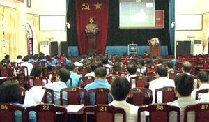 Hội nghị trực tuyến học tập, quán triệt Nghị quyết Đại hội Công đoàn Việt Nam lần thứ XII, nhiệm kì 2018-2023