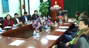 Thanh Thủy tổ chức hội nghị trực tuyến phát động Chương trình sức khỏe Việt Nam năm 2019