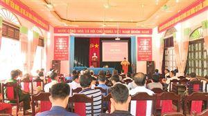 Hoàng Xá tổ chức hội nghị đối thoại trực tiếp giữa người đứng đầu cấp ủy, chính quyền với nhân dân năm 2019