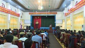 Thanh Thủy tổ chức hội nghị bổ sung quy hoạch cán bộ lãnh đạo, quản lý