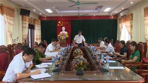 BTV Huyện ủy Thanh Thủy tổ chức hội nghị thường kỳ tháng 4