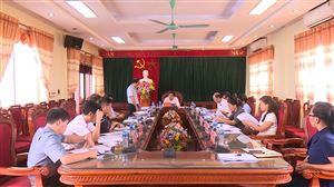 Ban Thường vụ Huyện ủy tổ chức hội nghị thường kì tháng 6 năm 2019