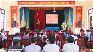 Thanh Thủy tổ chức tập huấn phòng chống thiên tai và tìm kiếm cứu nạn năm 2020