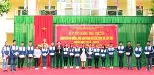 Trường THPT Thanh Thủy tuyên dương, khen thưởng giáo viên bồi dưỡng, học sinh tham gia các cuộc thi cấp tỉnh năm học 2018 - 2019