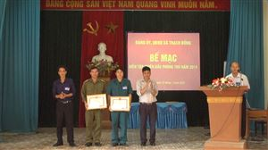 Xã Thạch Đồng tổ chức diễn tập chiến đấu phòng thủ cấp xã năm 2019