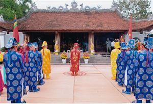 Tín ngưỡng thờ cúng Tản Viên Sơn Thánh - Nét văn hóa tâm linh đặc sắc ở Thanh Thủy