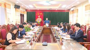Hội nghị BTV Huyện ủy Thanh Thủy tháng 3 năm 2021